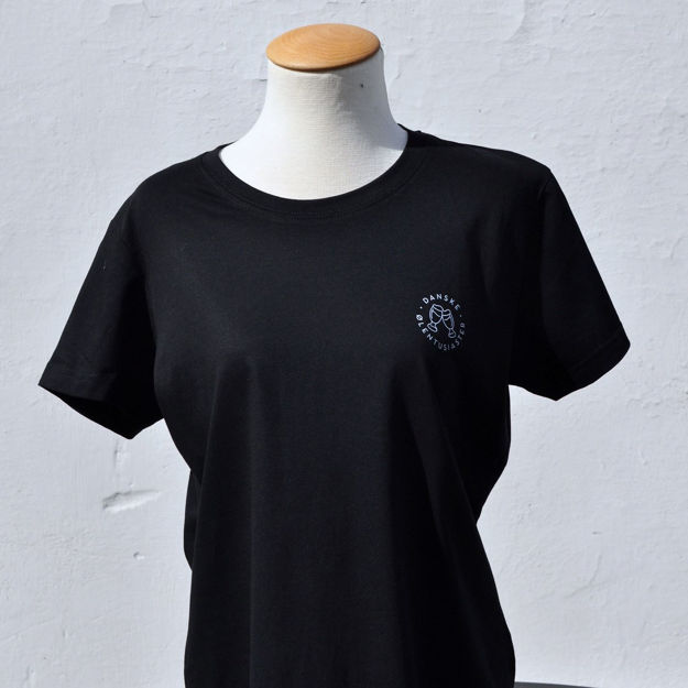 Picture of Sort t-shirt Dame DØE XXL