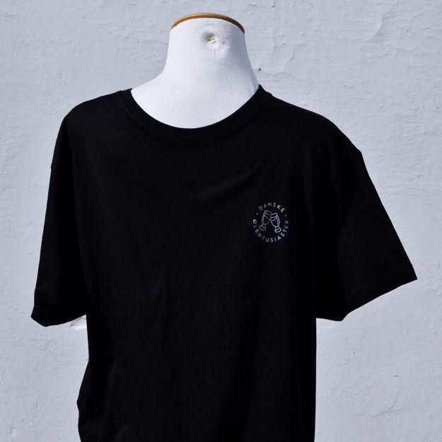 Picture of Sort t-shirt Herre DØE XXXXL
